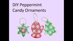 diy peppermint ornaments