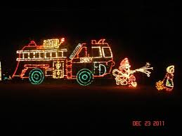 Christmas Vehicle Decorations Fire Trucks Decorated For Christmas Rainforest Islands Ferry