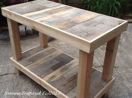 diy pallet work table resultado de imagen para pallet work table madera pinterest
