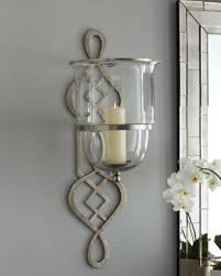 Decorative Wall Sconces Awesome Glass Candle Holders For Wall Sconces Ideas Interior