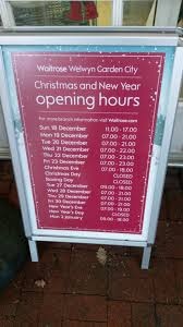 s day shopping waitrose new year s and new year s day shopping opening hours