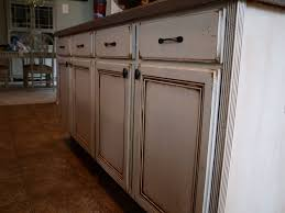 remarkable antique white kitchen cabinet with marble countertop