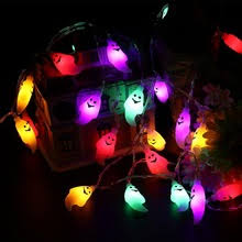 halloween ghost string lights buy halloween ghost string lights and get free shipping on