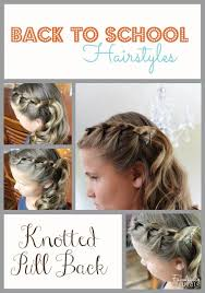 easy hairstyles for school trip 41 best back to school hair images on pinterest cute hairstyles
