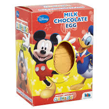 Mickey Mouse Easter Eggs Disney Mickey Mouse Clubhouse Milk Chocolate Egg 45g Easter Eggs