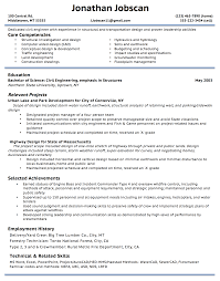 download highway design engineer sample resume