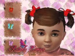 toddler earrings sims 3 earrings toddler