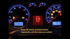 dodge avenger check engine light dodge avenger how to reset service light indicator youtube