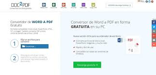 convertir imagenes jpg a pdf gratis 5 sitios para convertir word a pdf gratis pasar doc o docx a pdf