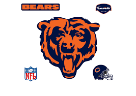 Chicago Bears Chicago Bears Logo Wall Decal Shop Fathead For