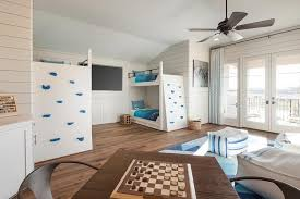 Wall Bunk Beds Bunk Bed Climbing Wall Transitional Boy S Room