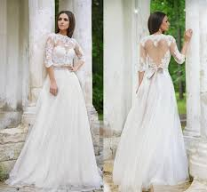 vintage roberto motti 2015 wedding dresses lace bridal gowns ball