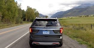 Ford Explorer Platinum - reaching new heights in colorado with the 2016 ford explorer