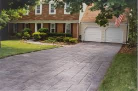 Cost Of Stamped Concrete Patio by Concrete Driveway Cost How Much Concrete Driveway Vs Asphalt Costs