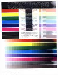 beautiful color test page inkjet printer contemporary printable