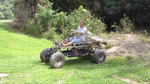 homemade truck go kart monster go kart custom built from scrap parts youtube