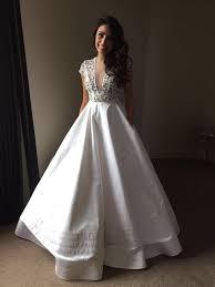 custom wedding dress alex perry custom made second wedding dress on sale 60