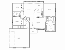 57 Inspirational Ranch House Plans with Basement House Floor