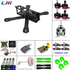 lhi carbon fiber frame diy mini drone fpv 220mm quadcopter for qav