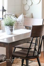 Kitchen Nook Table Breakfast Nook Table Makeover The Wood Grain Cottage