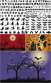 free halloween vector background transparent png backed halloween vectors halloween images