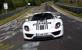 porsche 918 front nürburgring bans future lap record attempts u2013 news u2013 car and