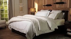 pottery barn linen sheets review white bedding basics pottery barn youtube