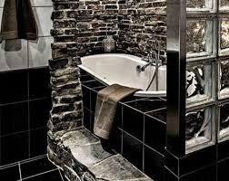 desain kamar mandi warna hitam putih keramik dinding kamar mandi hitam putih kamar mandi