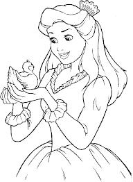 printable disney princess coloring pages coloring tone