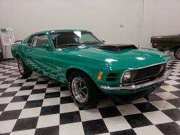 rare muscle cars rare 1970 ford mustang boss 429 grabber green for sale american