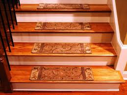 stair nice looking stair design with oak wood treads and white