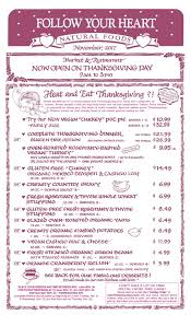 pre order your 2017 thanksgiving meal with follow your