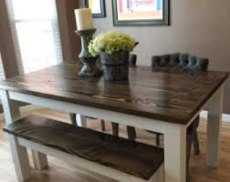 Kitchen  Dining Tables Etsy - Rustic kitchen tables