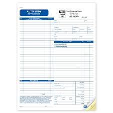 Car Wash Invoice Template by Automotive Repair Invoice Work Order Estimates Designsnprint