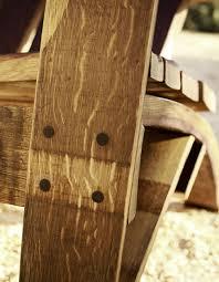 wine barrel adiorondack chairs u0026 furniture wine barrel workshop