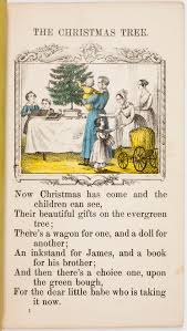 santa and the christmas tree in nineteenth century american