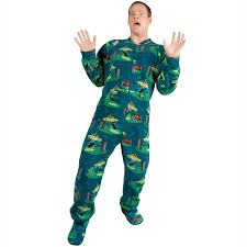 abduction fleece onesie pajamas