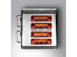 Dualit Toaster Cage Dualit Architect 4 Slot Toaster 40526 Stainless Steel With Grey