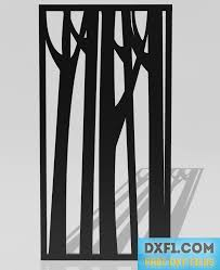 68 Best Wall Silhouettes Images by Cutout Panel With Trees Silhouette Plasma Cut File Laser Cut