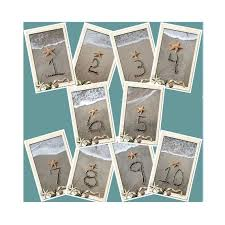 themed table numbers themed wedding table numbers 4064