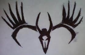 tribal deer skull by free bird94 on deviantart
