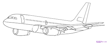 airplane drawing for kids free download clip art free clip art