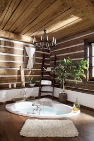 Cabin Bathrooms Ideas by 195 Best Log Cabin Decor Images On Pinterest Home Log Cabins