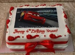 lightning mcqueen cakes lightning mcqueen cake with photo 4