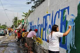 artivist alarm ag sano muralist philippines how do you make possible and facilitate the participatory mural painting opportunities and how much does community engagement influence the process