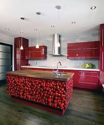 modern pink kitchen terrific modern pink and red small kitchen makeover decoration