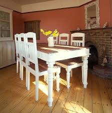 the interesting and unique distressed kitchen table amazing home