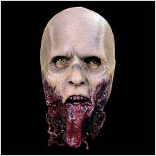 the walking dead jawless walker mask mad about horror
