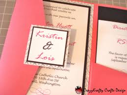 wedding card wedding invitation design cricut pocket wedding