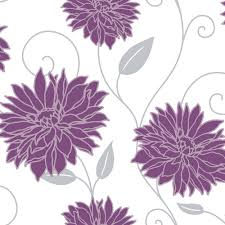 White And Silver Bedroom Purple White And Silver Wallpaper My New Room Pinterest